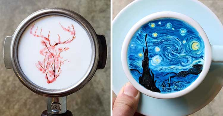 These Lovely Coffee Arts You Gonna Love It Surely!