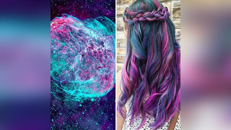 galaxy style hair color