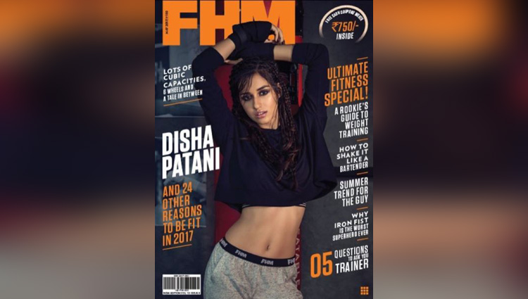 Disha Patani Photoshoot For FHM Magazine