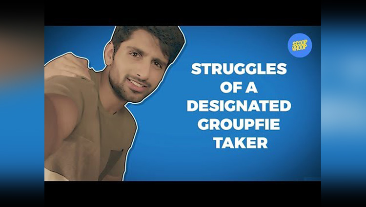 ScoopWhoop Struggles Of A Designated Groupfie Taker