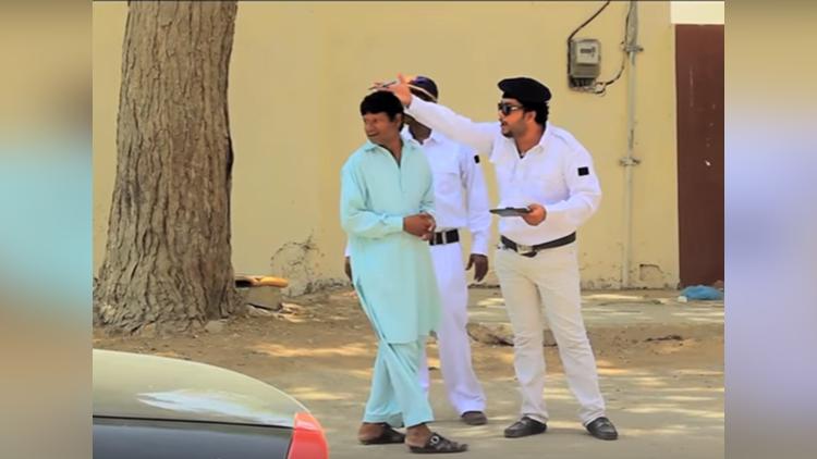 Traffic Police Prank By Nadir Ali and Sanata and Ahmed khan In P4 Pakao