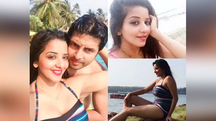 Nach Baliye couple Mona lisa and Vikrant Enjoying Honeymoon in Goa