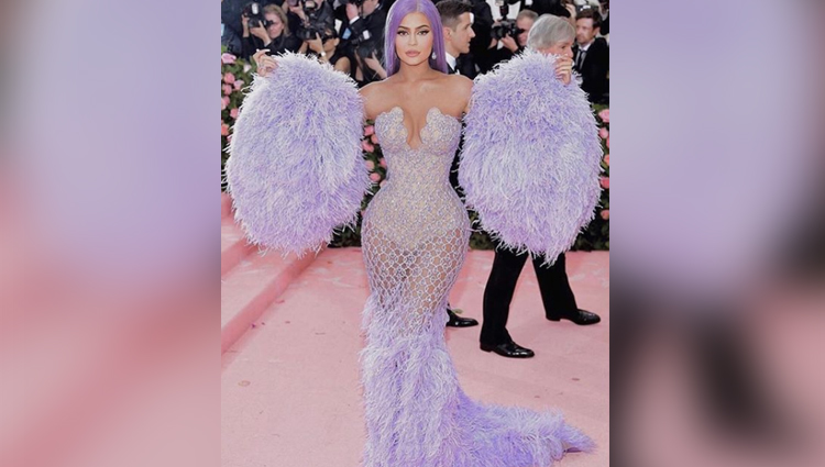 Kylie Jenner Dress At Met Gala 2019 photos