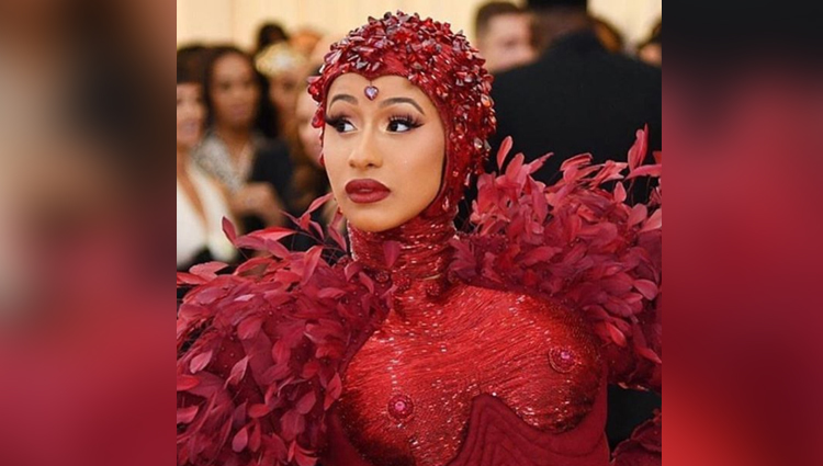 cardi b photos met gala 2019 photos sexy and bold cardi b