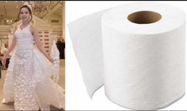 The Toilet Paper Wedding Dress Contest