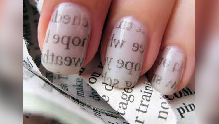 newspaper nail art photos easy nailart news jolly