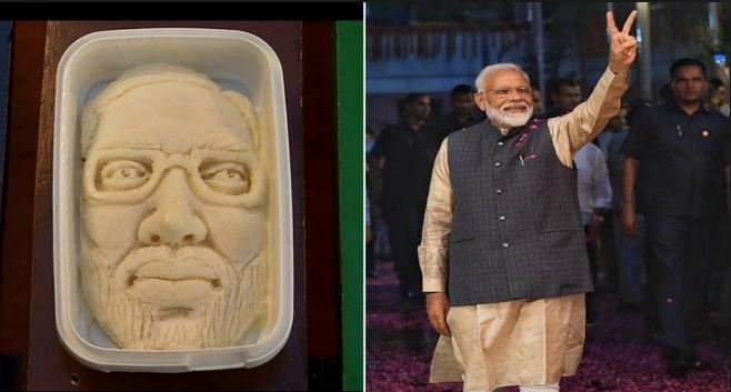 Ice Cream Parlour in Surat Launches Modi Sitafal Kulfi Featuring