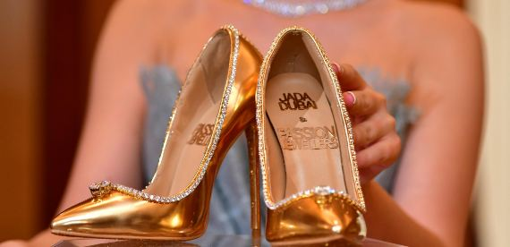 world most expensive shoes