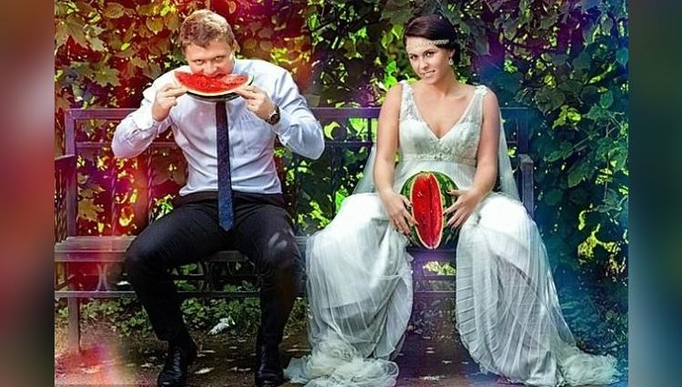 Weird Pre Wedding Photo Shoot