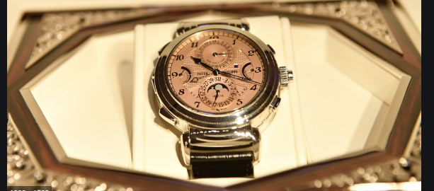 Patek Philippe 31 Million Grandmaster Chime Becomes most expensive watch