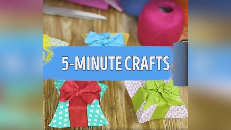 5 Minutes Craft today we have brought to you Gift Box