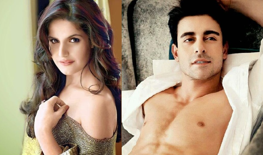 pictures of zareen khan and goutam rode enjoying in moresis