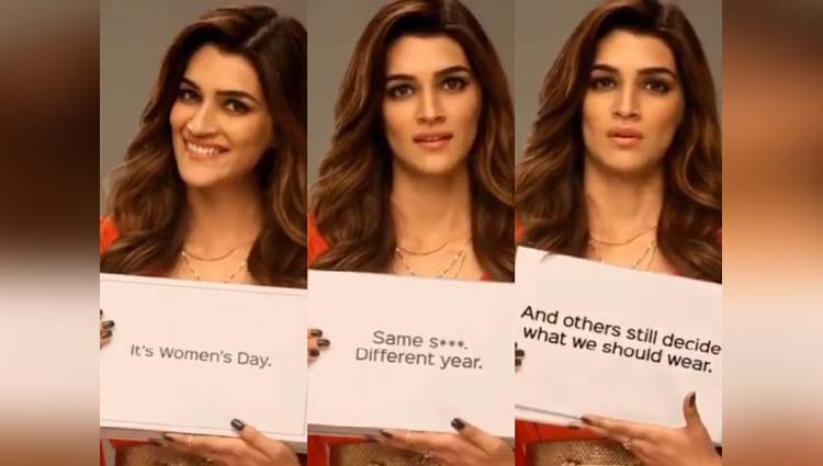 Kriti Sanon Pours Out Her Feeling On Women's Day And Somewhere She Is Right!