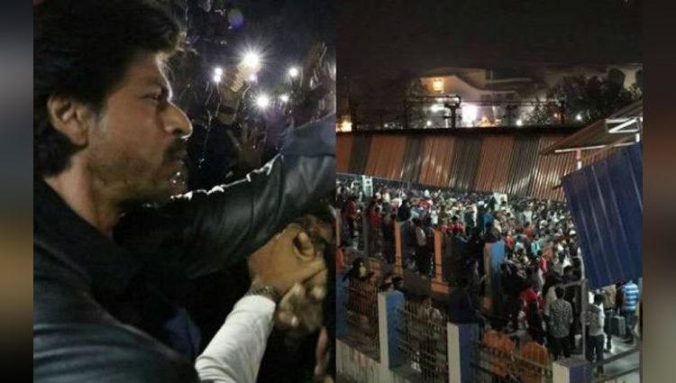 One dead, several injured as Shah Rukh Khan rides train to promote his movie