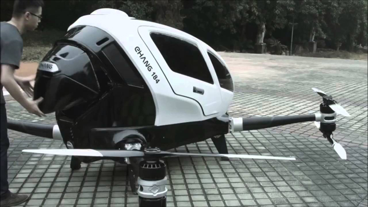 EHang 184 the flying taxi