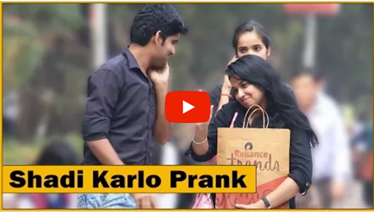 Shadi Karlo Mujhse Photo Dedo Prank on Girls