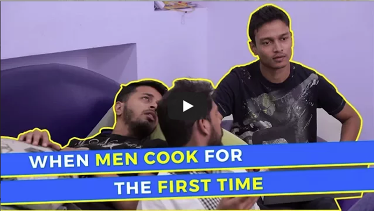 When Men Cook For The First Time WittyFeed