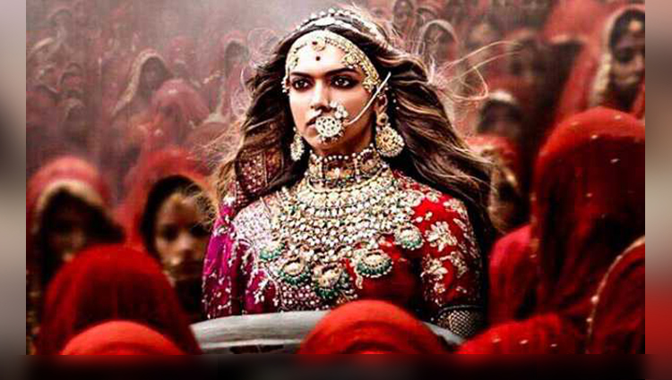 deepika padukone share her movie padmavati tag
