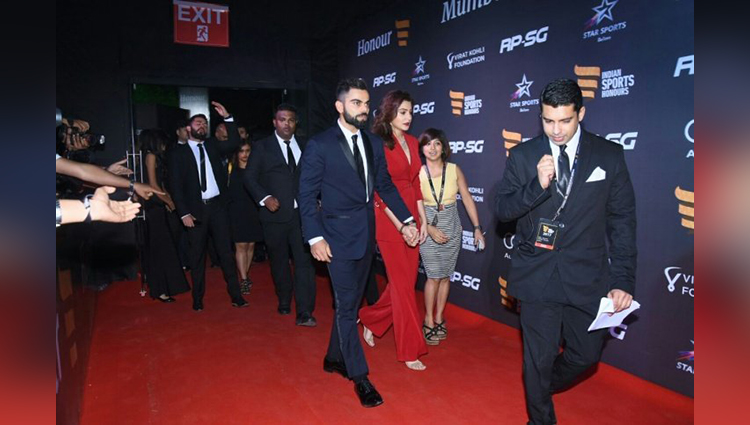 Virat Anushka Attended An Event Together And Floored Everyone With Their Adorable Chemistry