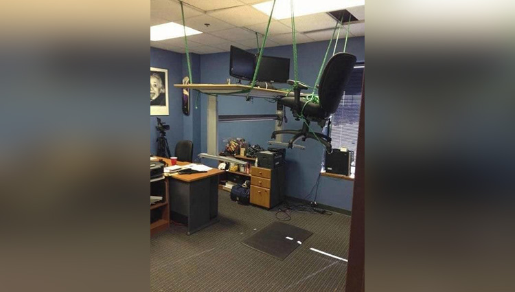 Outrageous office pranks show why you should NEVER go to war with your colleagues