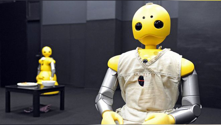 this japanese robot can host low cost buddhist funerals