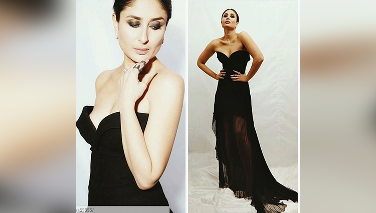Kareena Kapoor Khan looks smok in hot in this Black