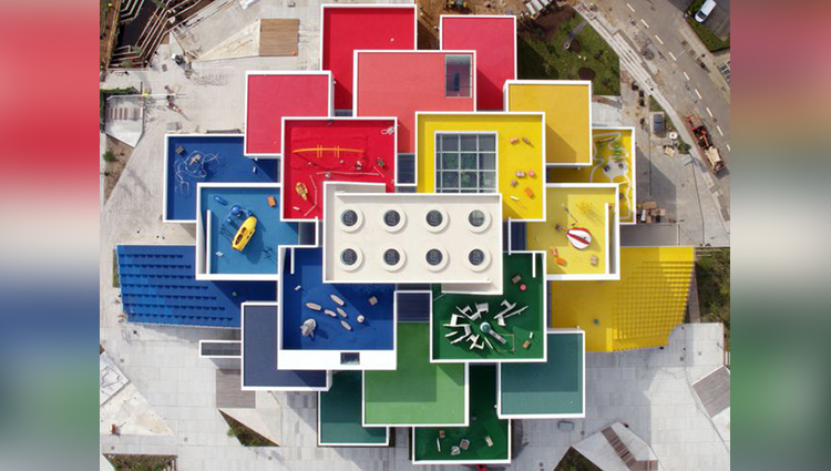 BIG's Lego House in Denmark