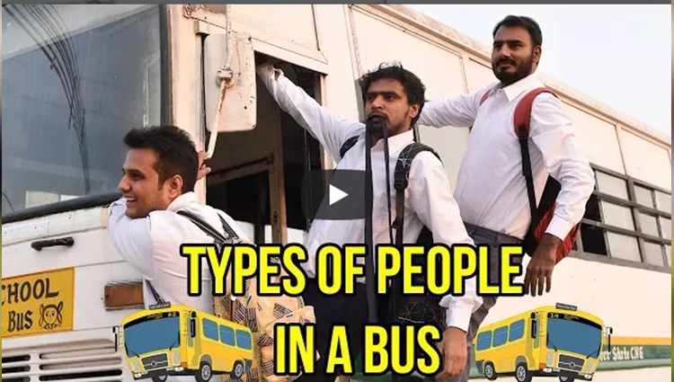 Types Of People in a Bus Amit Bhadana