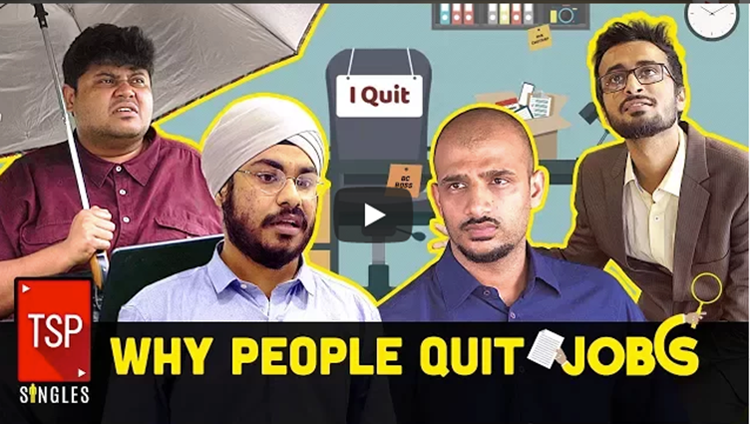 TSP Singles Why People Quit Jobs