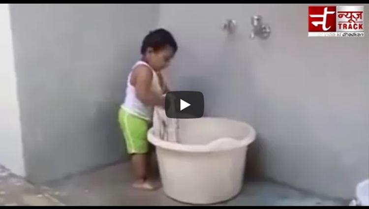 kapde dhota baccha Funny Videos Viral Videos