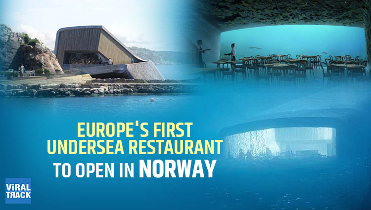 Europe's First Undersea Restaurant To Open In Norway