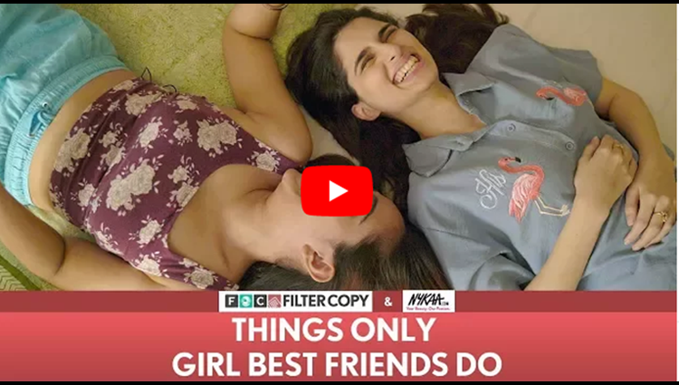FilterCopy Things Only Girl Best Friends Do Ft Aisha Ahmed and Apoorva Arora