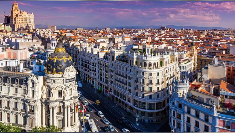 Spain: A Vibrant City but Not Very Overwhelming Commercial