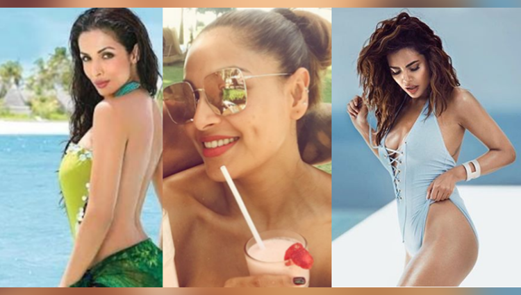 bollywood actress maintain their stardom by hot photos