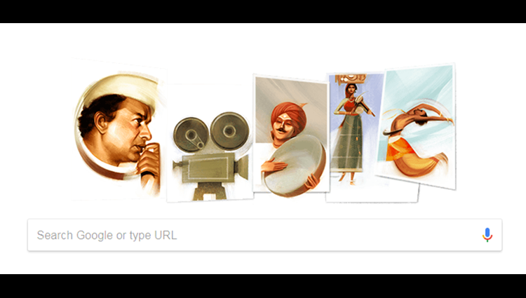 Google Doodle pays tribute to veteran Indian filmmaker V. Shantaram