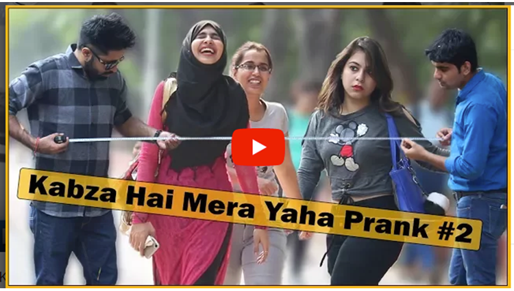 Kabza Hai Mera Yahan Prank Part 2 Ft Sunny Aryaa  The HunGama Films