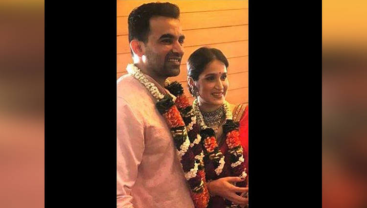 zaheer khan married to sagarika ghatge