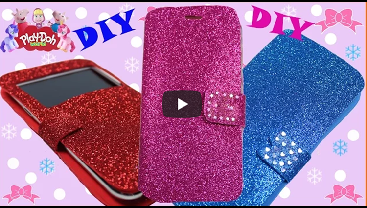 How To Make Cute Sparkly Phone Cases DIY Zen Garden 3D Modeling Creation for Kids