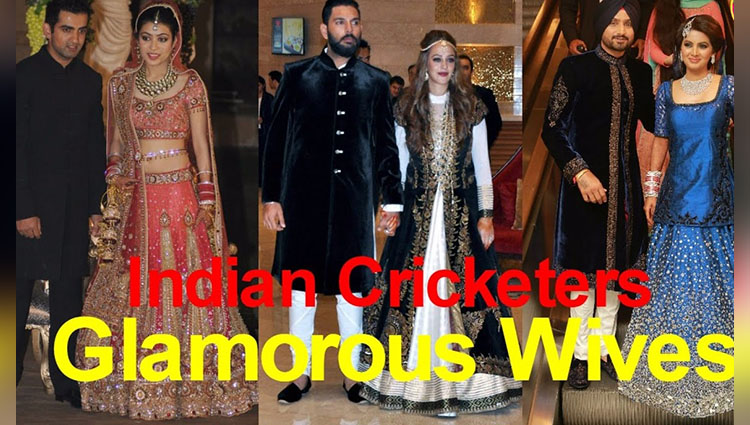 cricketers and their glamorous wives
