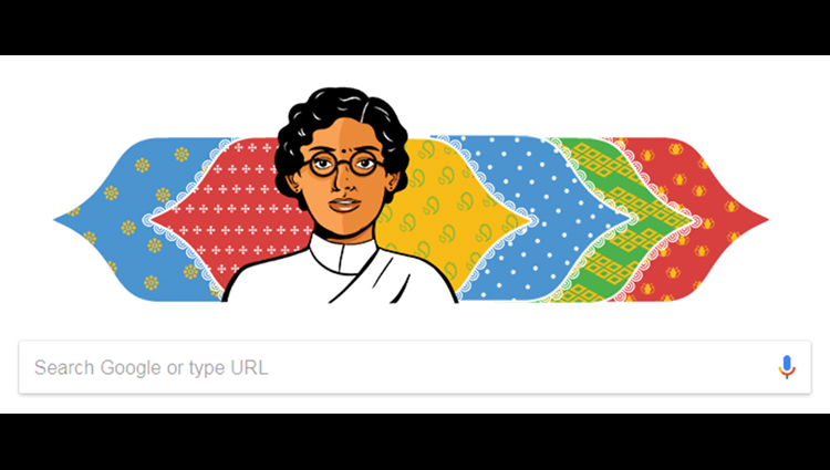 Google celebrates womens labour movement leader Anasuya sarabhai