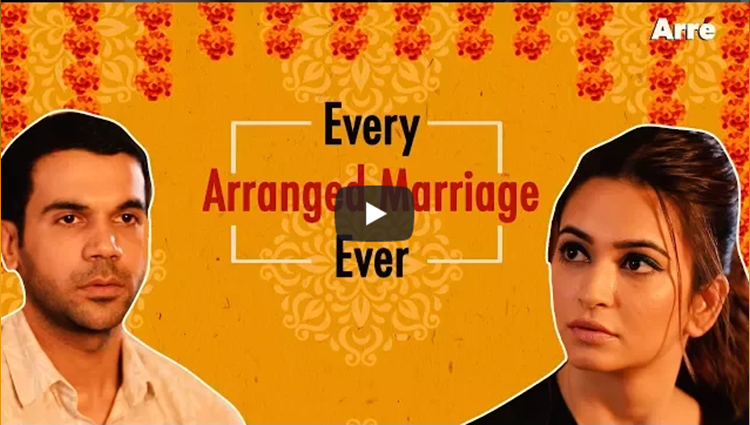 Every Arranged Marriage Ever ft Rajkummar Rao and Kriti Kharbanda Shaadi Mein Zaroor Aana