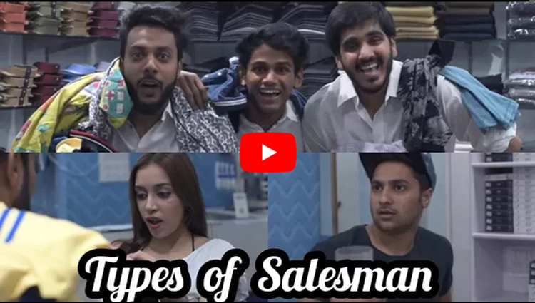 Types of Salesman Feat Harsh Beniwal RealSHIT