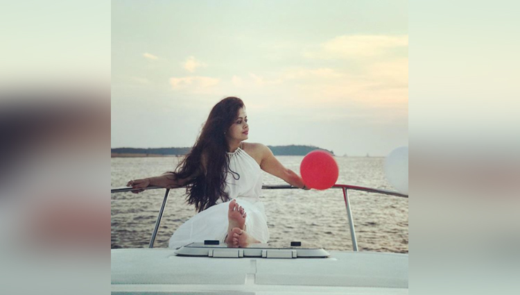 Devoleena Bhattacharjee in vacation mode