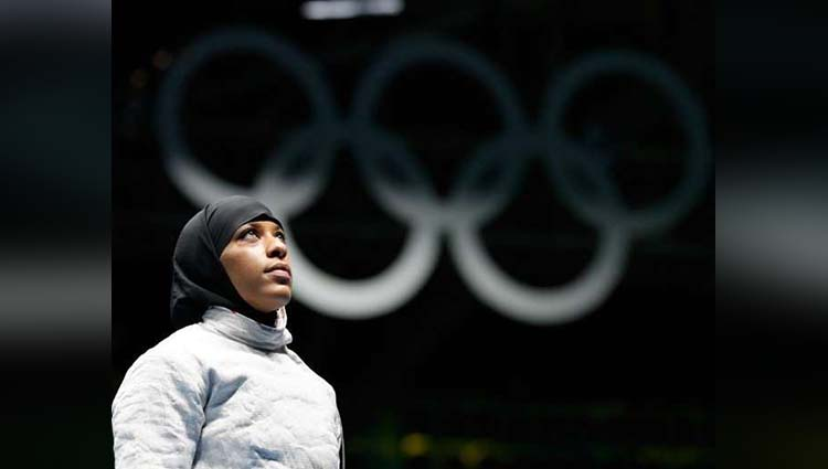 american woman who play olympic to wear hijab get honoured of barbie