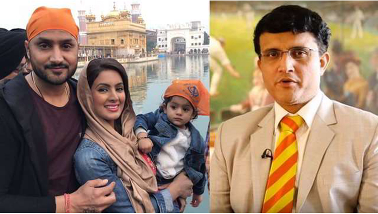 sourav ganguly mistake on social media say sorry to harbhajan singh