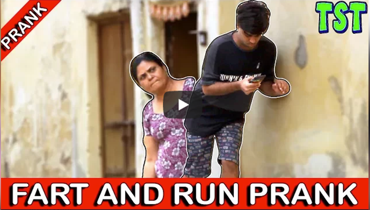 Fart and Run Prank Home Edition TST