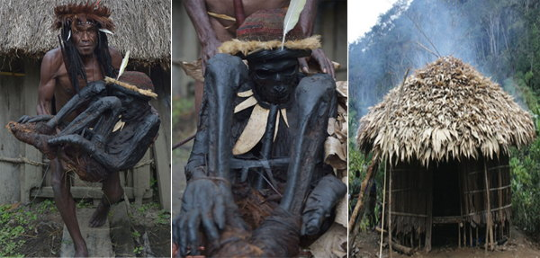 Papuan tribe cares for 250 year old mummy to preserve ancient