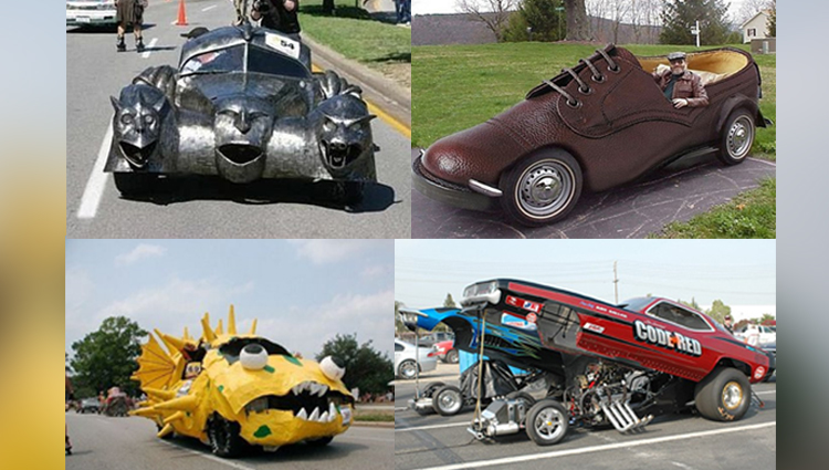 weird car designs photos