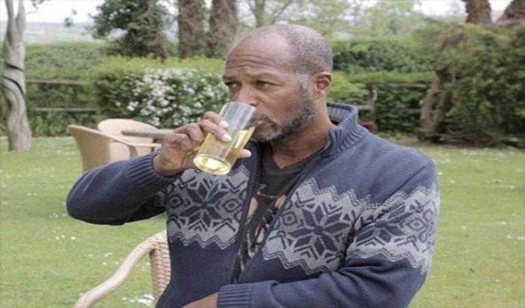 dave murphy drinking urine urine drinker man