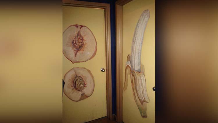 funny washroom signs